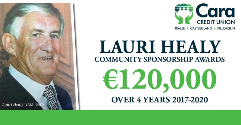 The Lauri Healy Community Sponsorship Awards – Now open for applications